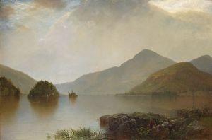 Lake George, 1869, Metropolitan Museum of Art, New York City