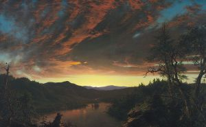 Twilight in the Wilderness, 1860, Cleveland Museum of Art