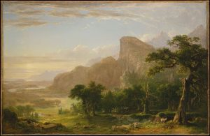 "Landscape--Scene from ""Thanatopsis"", 1850, Metropolitan Museum of Art, New York"