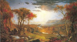 Autumn on the Hudson, 1860, National Gallery of Art, Washington, D.C.