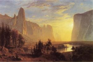 Yosemite Valley, Yosemite Park, c. 1868, Oakland Museum, Oakland, California