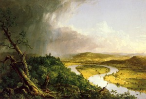 View from Mount Holyoke, Northampton, Massachusetts, after a Thunderstorm—The Oxbow, 1836, The Metropolitan Museum of Art, New York