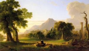 Evening of Life, 1840, National Academy of Design, New York