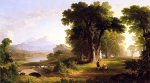 Morning of Life, 1840, National Academy of Design, New York