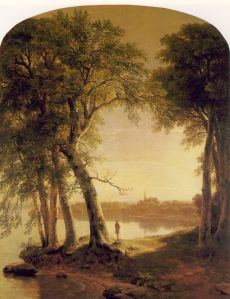 Early Morning at Cold Spring, 1850, Montclair Art Museum, Montclair, New Jersey