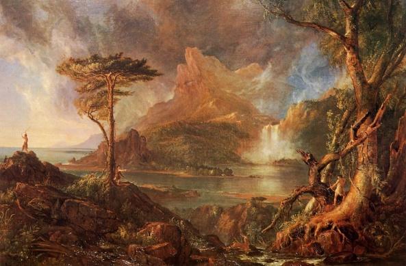 a-wild-scene-1832